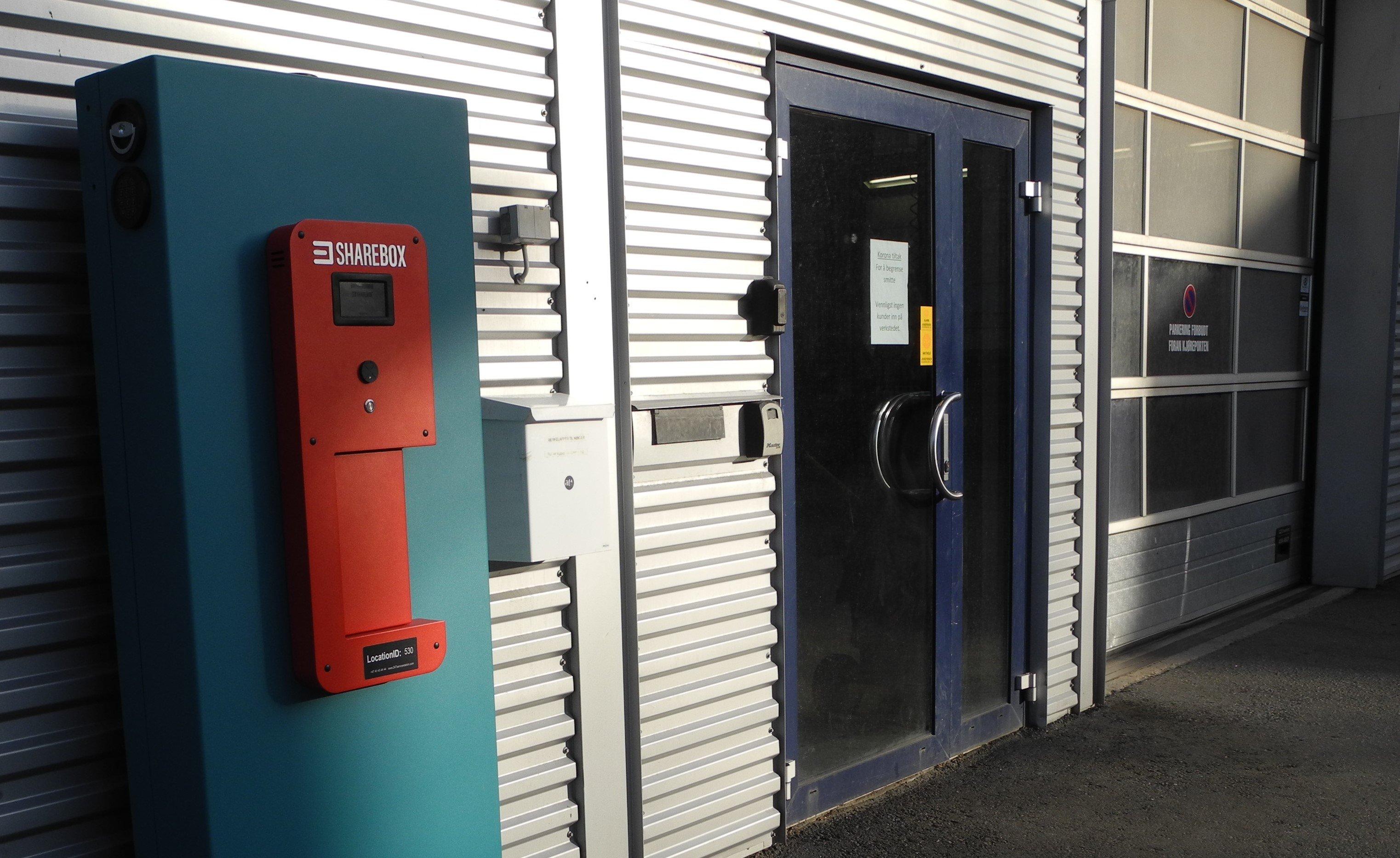 Garage car service Sharebox
