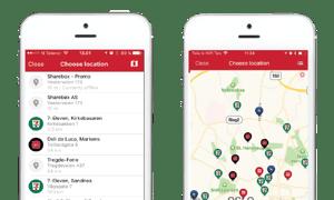 Sharebox app map