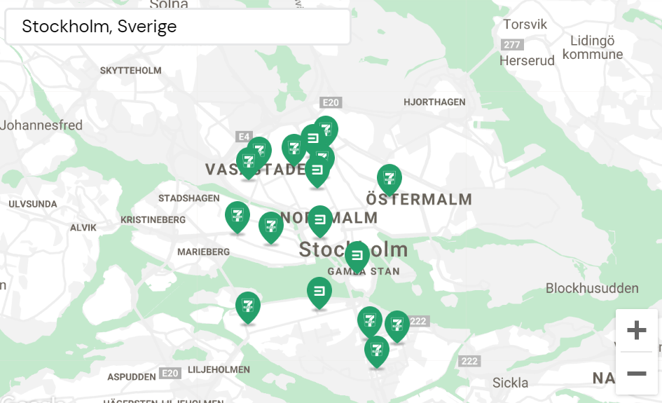Sharebox network Stockholm