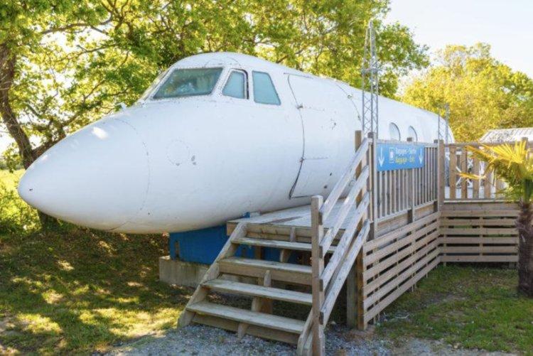 Repurposed plane