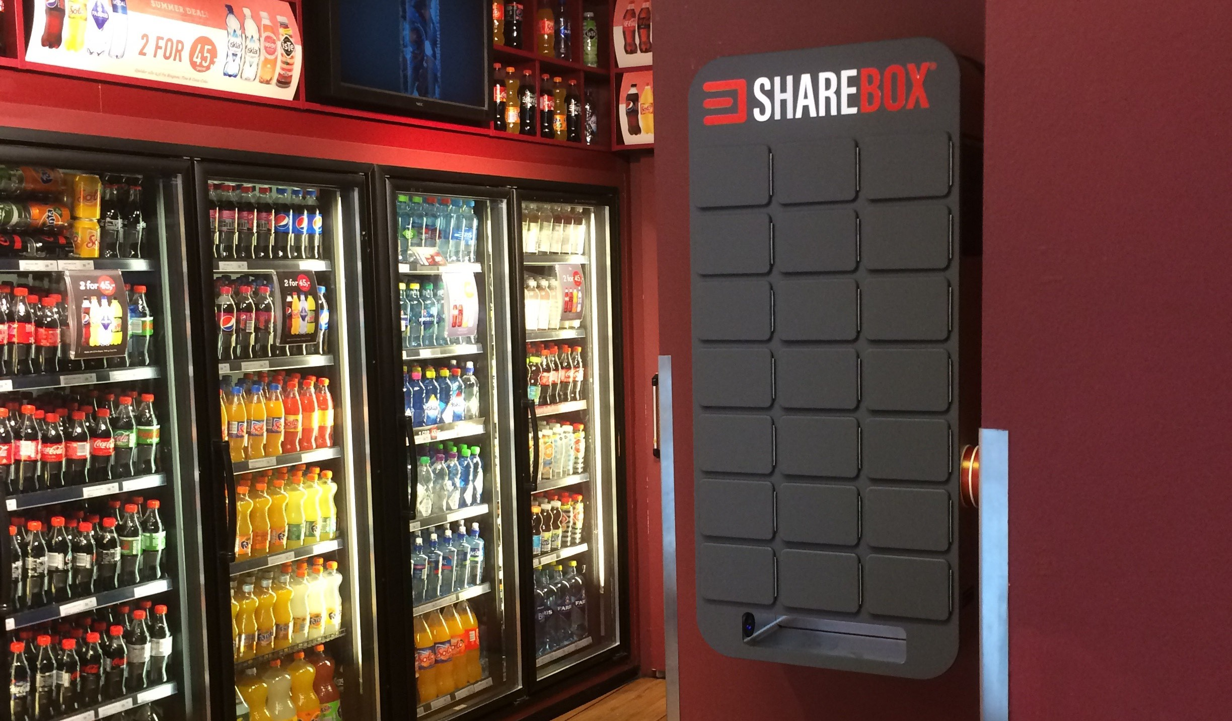 Sharebox cabinet