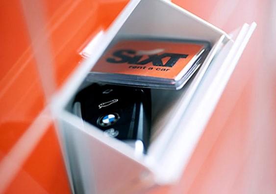 Sixt Fast Track locker (3)
